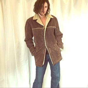 Wilsons Leather suede jacket